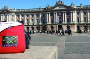 le Capitole lors d'un rallye urbain à Toulouse