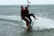 Kitesurf en tandem à Narbonne Plage