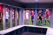 Les vestiaires du play soccer au foot 5