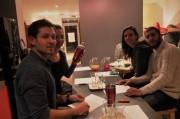 un groupe de personnes lors de l'atelier cocktail à Toulouse