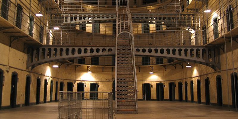 photo d'une prison du scénario l'évasion à l escape game de Toulouse