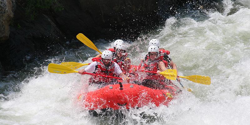 rafting sportif riviere